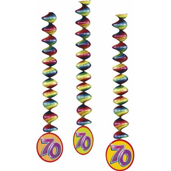 70 jaar feest rotorspiralen 3x (bron: Feestwinkel Fun en Feest)