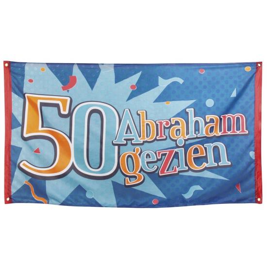 Abraham gezien vlag 90 x 150 cm