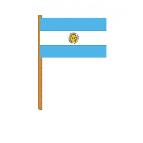 Argentinie zwaaivlaggetjes (bron: Feestwinkel Fun en Feest)