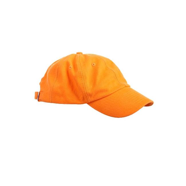 Baseballcaps in oranje kleur (bron: Feestwinkel Fun en Feest)