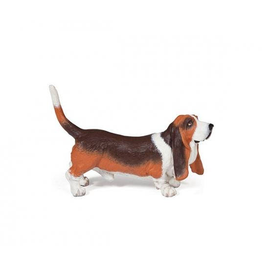 Basset hond speeldiertje 2,5 cm (bron: Feestwinkel Fun en Feest)