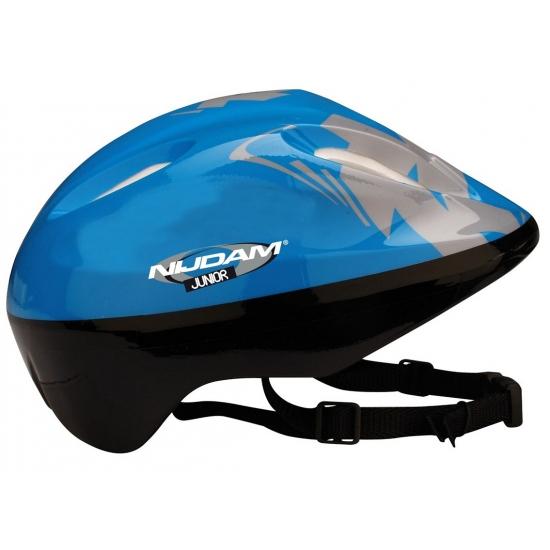 Blauwe skate helm voor kinderen (bron: Feestwinkel Fun en Feest)