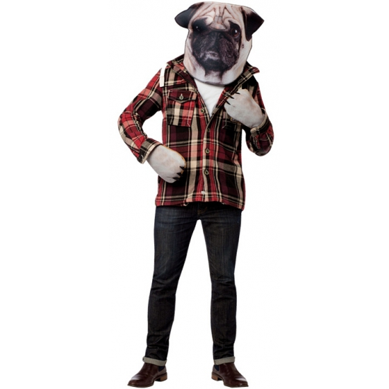 Carnavals verkleed setje hond