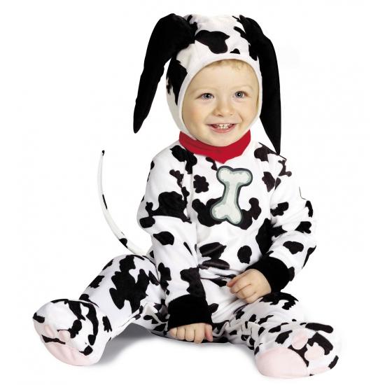 Dalmatier kostuum baby's (bron: Feestwinkel Fun en Feest)