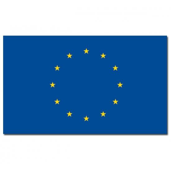 Europese vlag 90x150 cm