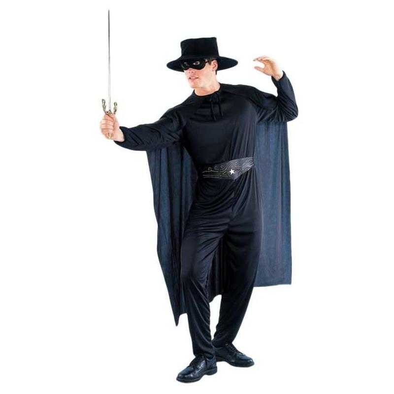 Filmheld kostuum voor heren