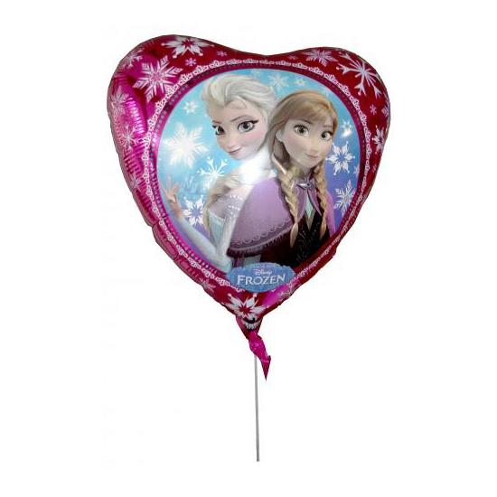 Folie ballon hart Elsa en Anna 43 cm (bron: Feestwinkel Fun en Feest)