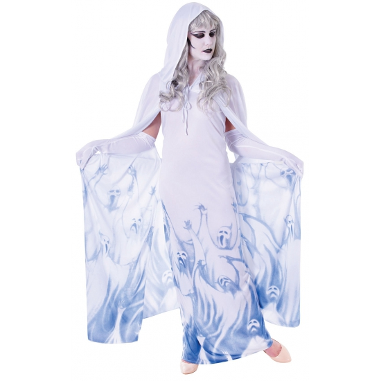 Geesten jurk voor dames (bron: Feestwinkel Fun en Feest)