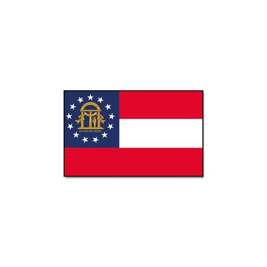 Georgische vlag 90x150 cm