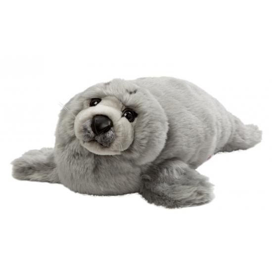 Grijze knuffel zeehond 40 cm (bron: Feestwinkel Fun en Feest)