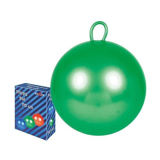 Grote gekleurde skippybal 70 cm (bron: Feestwinkel Fun en Feest)