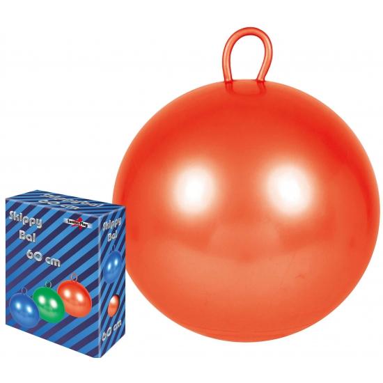 Grote rode skippybal 70 cm