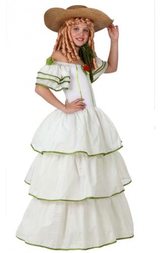 Historische meisjes jurk (bron: Feestwinkel Fun en Feest)