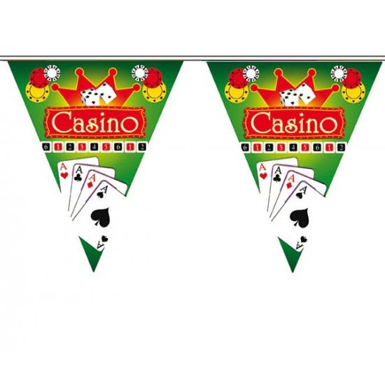 Hollywood thema vlaggenlijn Casino (bron: Feestwinkel Fun en Feest)