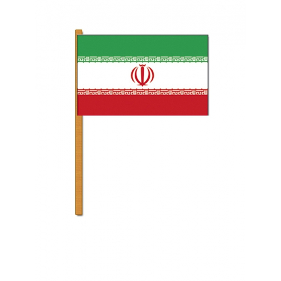 Iran zwaaivlaggetjes (bron: Feestwinkel Fun en Feest)