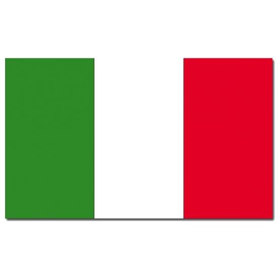 Italiaanse vlag 90 x 150 cm (bron: Feestwinkel Fun en Feest)