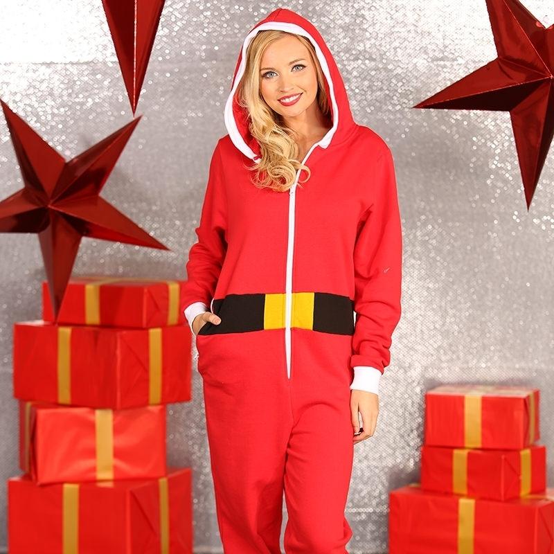 Kerst all-in-one pak voor vrouwen (bron: Feestwinkel Fun en Feest)