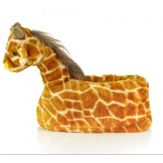 Kinder dieren pantoffels giraffe (bron: Feestwinkel Fun en Feest)