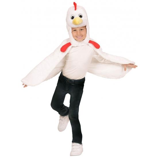 Kip verkleedcape voor peuters