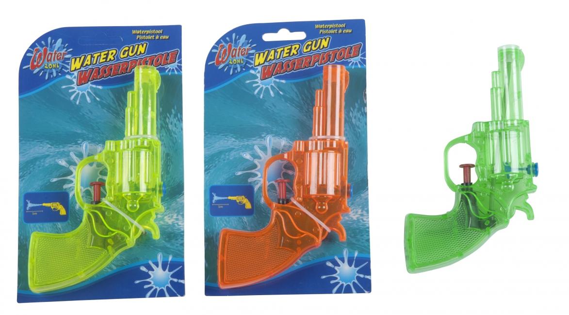 Kleine waterpistooltjes (bron: Feestwinkel Fun en Feest)