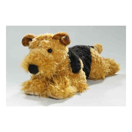 Knuffel hond fox terrier 40 cm (bron: Feestwinkel Fun en Feest)