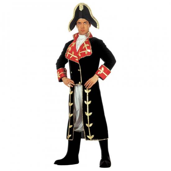 Kostuum Napoleon fluweel (bron: Feestwinkel Fun en Feest)