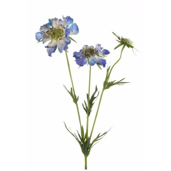 geenKunstbloem Scabiosa Duifkruid 70 cm