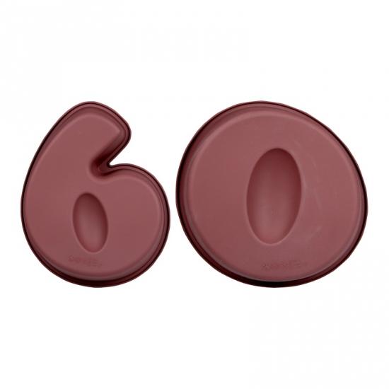 Leeftijd cake vormen 60 (bron: Feestwinkel Fun en Feest)