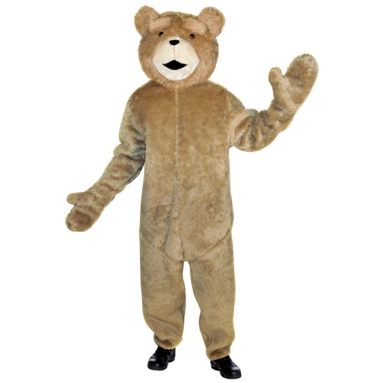 Lichtbruine Ted de beer pak