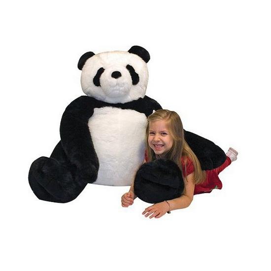 Mega panda knuffel 76 cm (bron: Feestwinkel Fun en Feest)