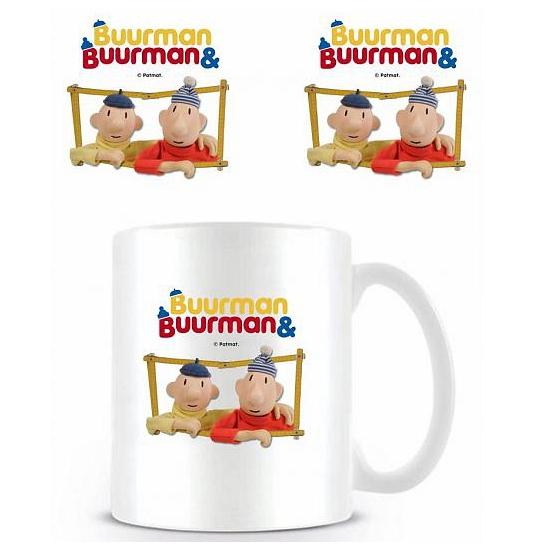 Merchandise mok Buurman en Buurman raam (bron: Feestwinkel Fun en Feest)