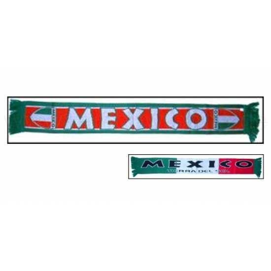 Mexico voetbal sjaaltje (bron: Feestwinkel Fun en Feest)