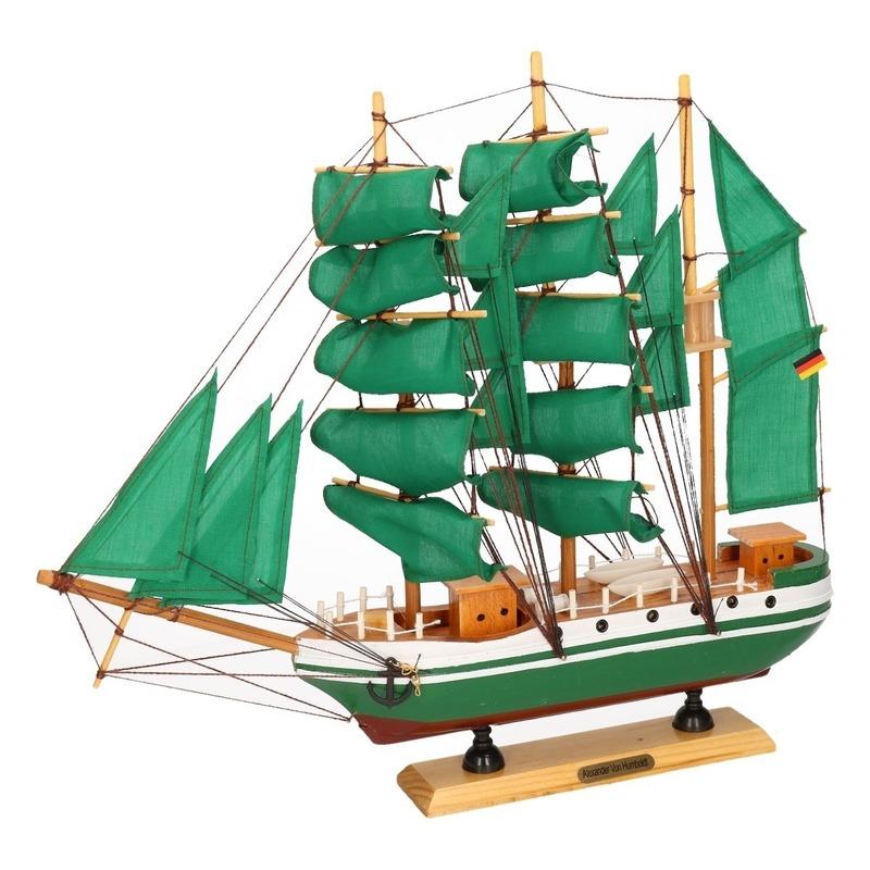 Miniatuur replica Alexander von Humboldt