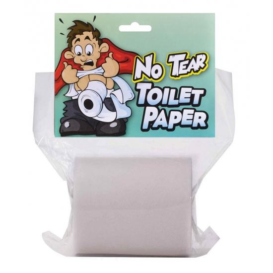 Niet af te scheuren WC papier (bron: Feestwinkel Fun en Feest)