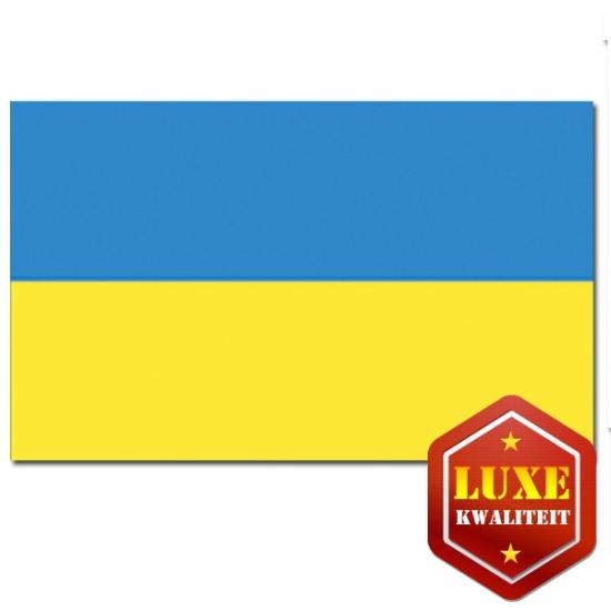 Oekra?nse vlag goede kwaliteit (bron: Feestwinkel Fun en Feest)