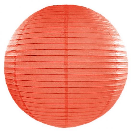 Oranje lampion rond 50 cm (bron: Feestwinkel Fun en Feest)
