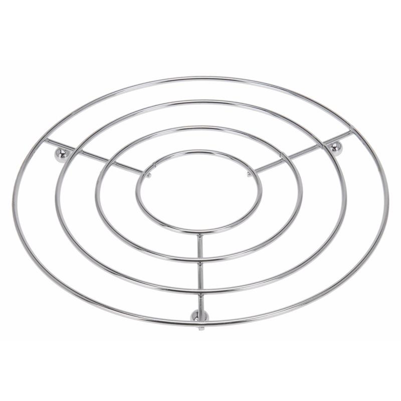 geenPannen onderzetter rond roestvrijstaal
