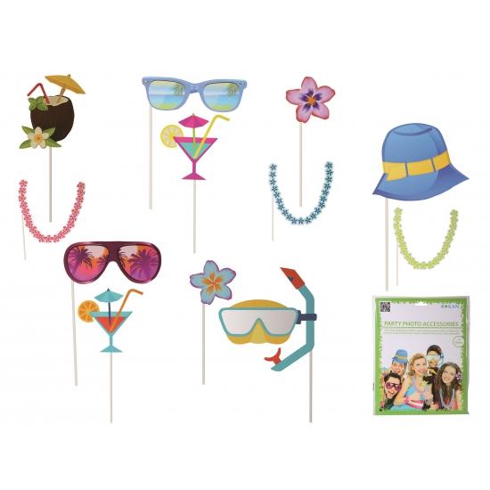 Photo booth prop accessoires strand (bron: Feestwinkel Fun en Feest)