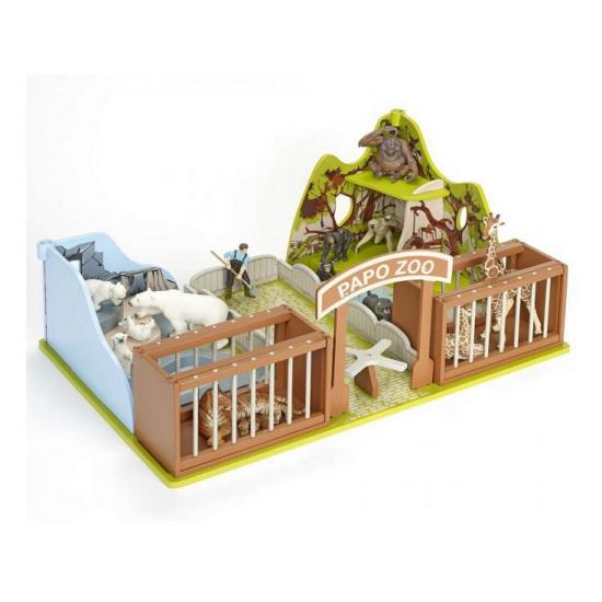 Plastic dierentuin speelset (bron: Feestwinkel Fun en Feest)