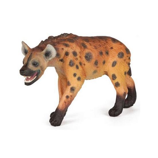 Plastic hyena speeldiertje 11 cm