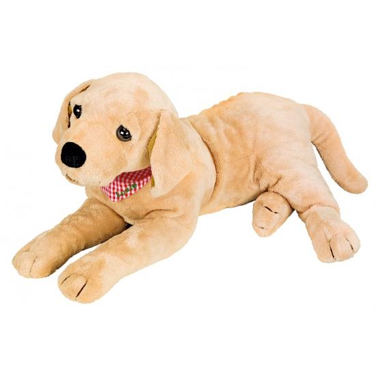 Pluche knuffel hond Golden Retriever 50 cm