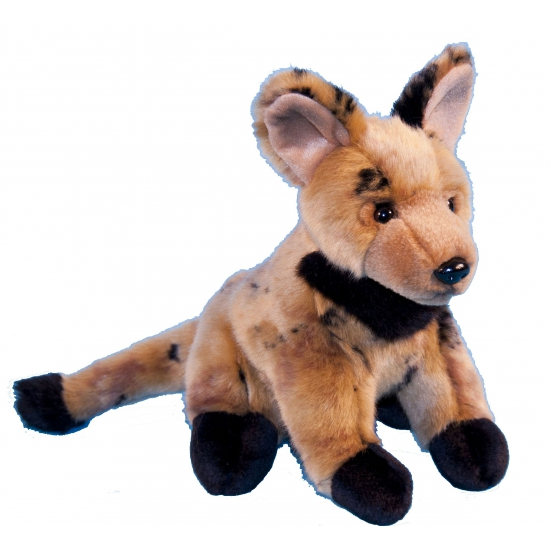 Pluche knuffel hyena 21 cm (bron: Feestwinkel Fun en Feest)