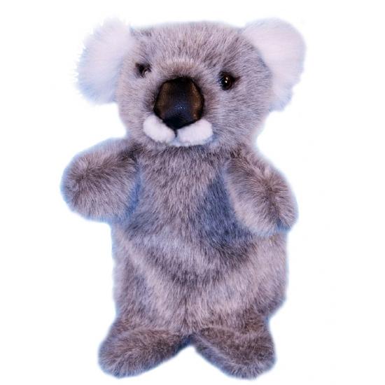 Pluche koala handpoppen 28 cm (bron: Feestwinkel Fun en Feest)