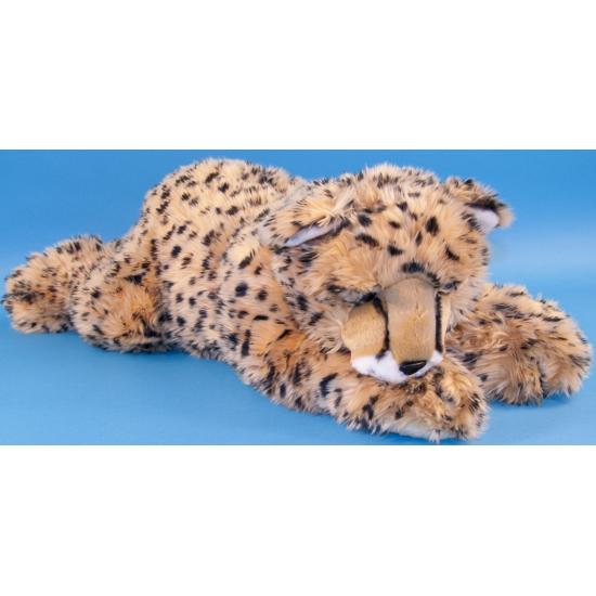 Pluche liggende cheetah 70 cm