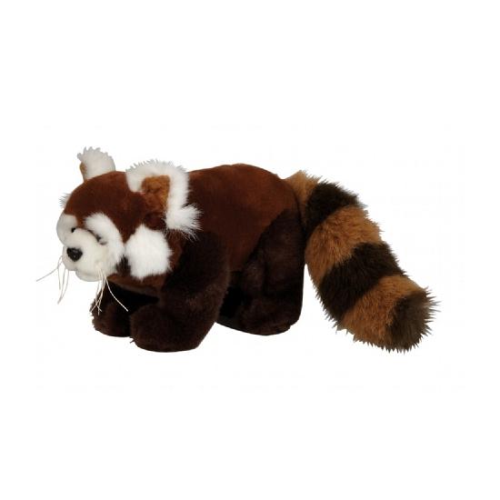 Pluche rode panda knuffel 20 cm (bron: Feestwinkel Fun en Feest)