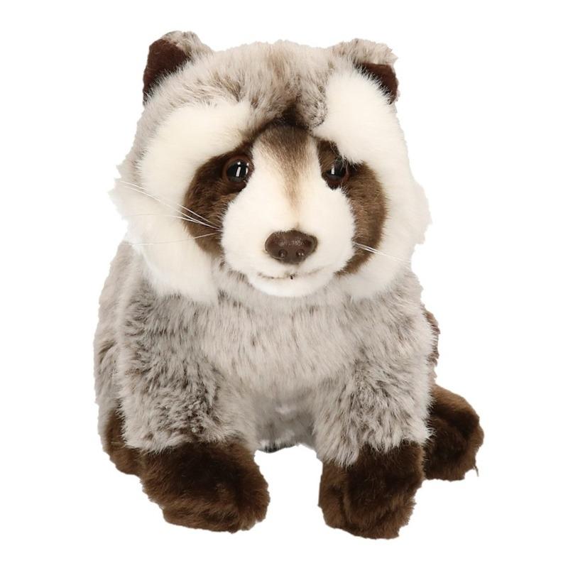 Pluche wasbeer knuffel 25 cm (bron: Feestwinkel Fun en Feest)