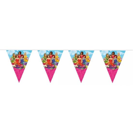 Prinsessia versiering vlaggenlijn 10 meter (bron: Feestwinkel Fun en Feest)