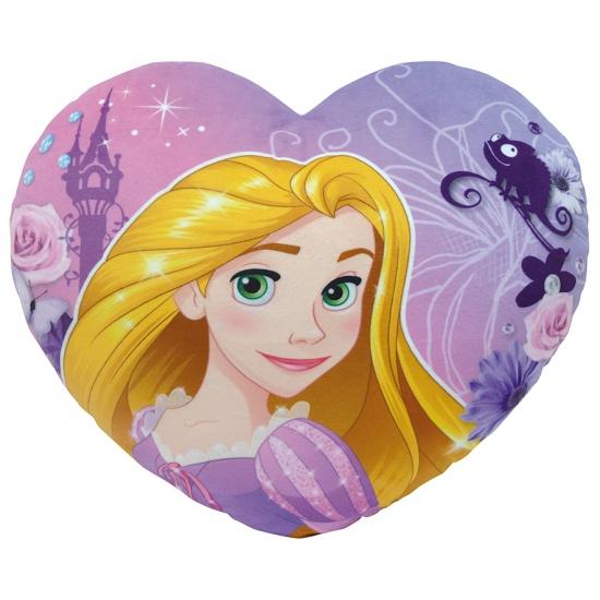 Rapunzel kussentje in hartvorm