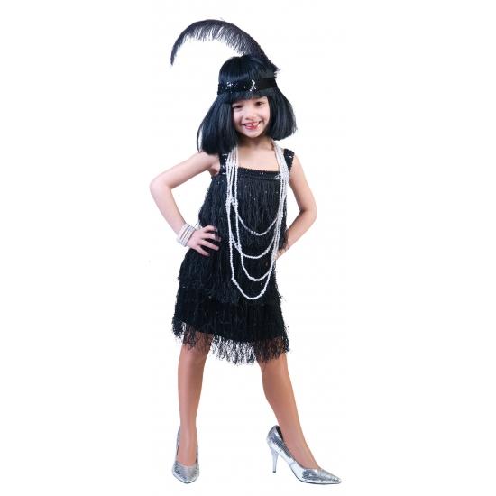 Showgirl jurkje voor meisjes (bron: Feestwinkel Fun en Feest)