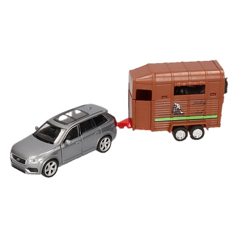 WellySpeelgoed BMW met paardentrailer 1